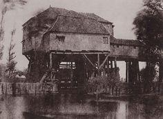 Hippolyte Bayard, Le Moulin de Saint-Ouen, 1845.