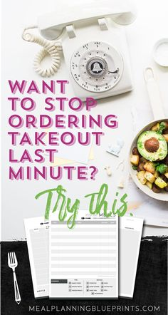 Stop ordering takeout last minute! Create the perfect dinner backup plan! Meal planning | freezer meals | free printable | grocery budget | save money