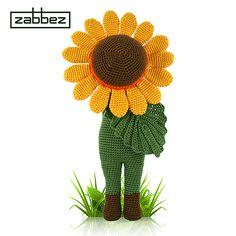 Ravelry: Sunflower Sam pattern by Zabbez / Bas den Braver