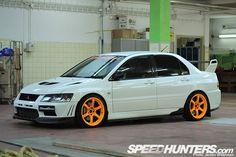 Mitsubishi Evolution VII GSR