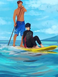 I don't know where I saw it first but I thought I had to draw something about it, so here you have it. Also, some of my headcanons about this: -Keith is scared of deep water, his parents died on the sea so he lives on his. Voltron Klance, Voltron Ships, Voltron Fanart, Form Voltron, Robot Lion, Keith Lance, Lance Mcclain, Wattpad, Space Cat