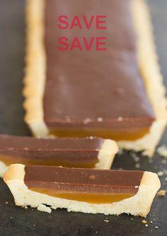 Twix Tart - OMG Chocolate Desserts DIYz