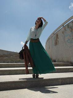 Margarida bianco verde