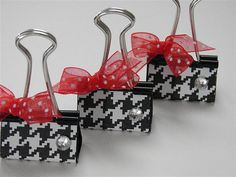 altered binder clips
