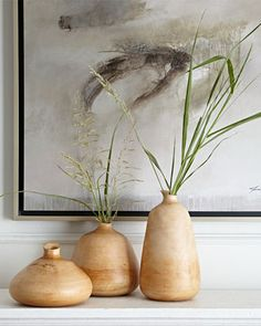 Jamie Young Organic Wood Vases