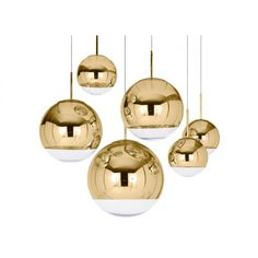 Buy Tom Dixon Mirror Ball Gold Pendant Light online with Houseology Price Promise. Full Tom Dixon collection with UK & International shipping. Globe Pendant Light, Pendant Lamp, Pendant Lighting, Gold Pendant, Suspension Tom Dixon, Modern Lighting, Lighting Design, Ceiling Lamp, Ceiling Lights