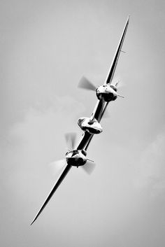 Even today there are few as sleek as the P-38 Lightning. And we made her a LONG time ago. Truly, they don't make 'em like they used to.