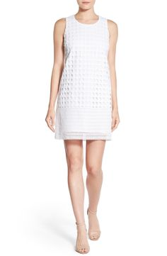 22c84c895d4 Catherine Catherine Malandrino  Bess  Eyelet Shift Dress available at   Nordstrom Engagement Dresses