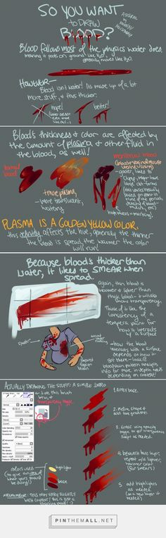 How to Paint Blood Tutorial