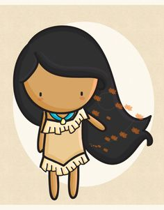 Pocahontas by Augustina [©2011-2016 agusmp]