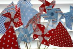 To cute for red wagon party or fourth of july bbq