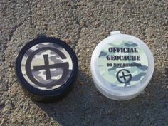 Fat Boys Pair of Magnetic Geocaching Containers by GeocacheHides