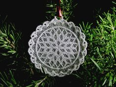FSLFree standing lace embroidery Snowflake by CocobeanBoutique, $4.00