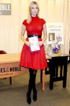 Ivanka Trump - Ivanka Trump Promoting Her New Book In New York City