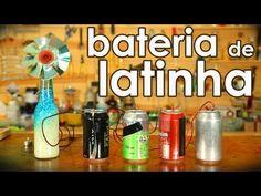 Bateria de latinha de alumínio (experiência de química)
