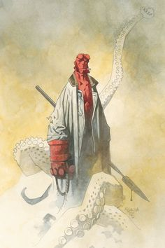 Celebrating 20 Years of Hellboy Watercolors by... • IN HELL