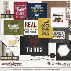 5k To Win: Cards by