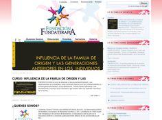 Sitio web realizado para la Fundación Fundaterapia en Bogotá Colombia