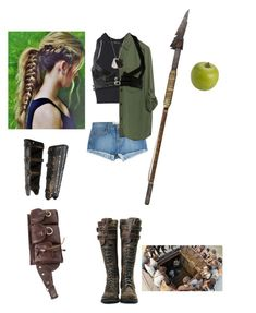"""""""Cleo~ Maze Runner oc"""" by princess-greenleaf ❤ liked on Polyvore featuring Current/Elliott, Topshop, Zara, Gucci and Pier 1 Imports"""