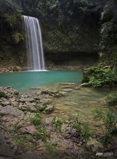 Socoa's River Waterfall, Bayaguana #DominicanRepublic