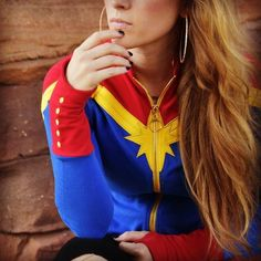 We can't even handle all of the excitement for #CaptainMarvel Shop the link in our Instagram bio. #Marvel #MarvelStudios #StyledByMarvel