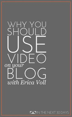 Why You Should Create a Vlog for Your Blog - The SITS Girls