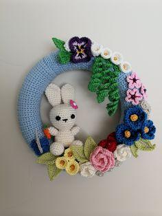 My Spring wreath. Love it