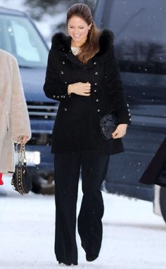 Princess Madeleine of Sweden and Chris O'Neil received audiences in Gavle 2/2/2015