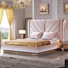 Modern Beds and Headboards - Schlafzimmer Modern Luxury Bedroom, Luxury Bedroom Furniture, Master Bedroom Interior, Luxury Bedroom Design, Luxurious Bedrooms, Interior Design, Bedroom Lamps Design, Bed Headboard Design, Home Room Design