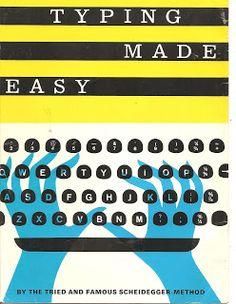 Scheidegger typing method