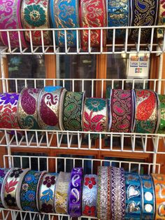 Fair trade ribbons in today from India