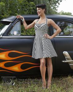 Bree - Pinup Classic Car Shoot Pinup, Classic Cars, Eye, Dresses, Fashion, Vestidos, Moda, Fashion Styles, Vintage Classic Cars