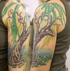 weeping willow tree tattoo cherry tree tattoo by avidivah tattoos pinterest cherry tree. Black Bedroom Furniture Sets. Home Design Ideas