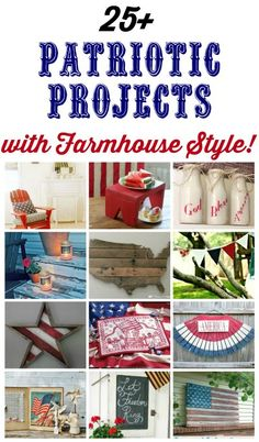 Farmhouse Friday #10 - Patriotic Decor - Knick of Time