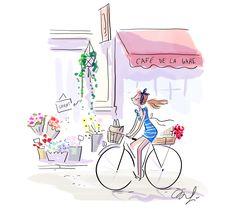 ♫ Je ne reconnais plus personne sur mon vélo Peugeot…♫ Allez, bon week-end !!!