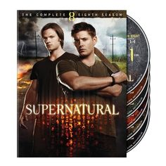 'Supernatural The Complete Eighth Season' Blu-ray and DVD Arrive... ❤ liked on Polyvore featuring movies, supernatural, dvds, other and accessories
