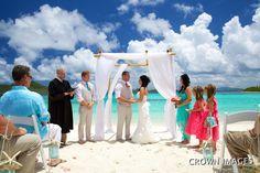St Thomas Wedding Lindquist Beach