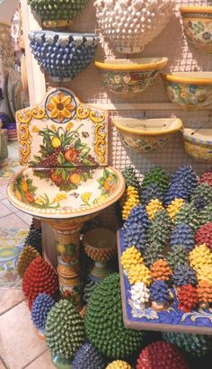 Pinecones from Taoramina, meaning welcome and prosperity.Italy