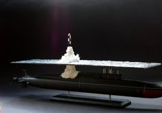 Great scale model of Russian submarine Yury Dolgorukiy (K-535) - 27