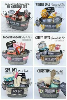Gift basket ideas! Cute way to save money! - Kirsty Isobel (@K1St3rry) | imging.me