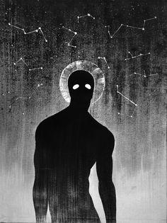 Ideas For Concept Art Creature Shadows Arte Horror, Horror Art, Dark Fantasy Art, Dark Art, Art Et Illustration, Illustrations, Art Sketches, Art Drawings, Character Art