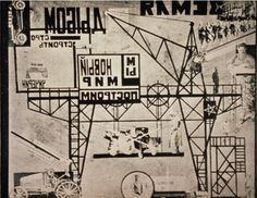 Lyubov Popova (Russian, 1889-1924) Stage Set for Earth in Turmoil (The Restive Earth), Constructivist Experimental Theater, 1923