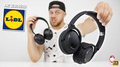 🎧 Jaká jsou sluchátka z LIDLu s aktivním noise-cancellingem? Over Ear Headphones, Macbook, Smartphone, Notebook, Watches, Tech, Youtube, Wristwatches, Mac Book