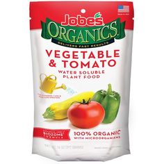 Jobes Organics Water Soluble Vegetable & Tomato Fertilizer - 12 ounce