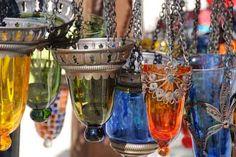 Love the morrocan lanterns