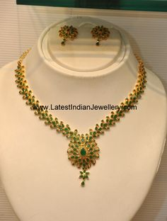 emerald jewellery indian designs - Google Search
