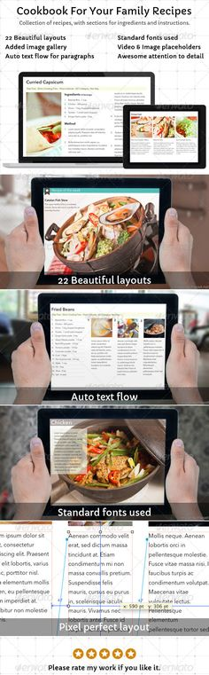 Cookbook template for ibooks author cookbook template template cookbook template for your family recipes forumfinder Choice Image