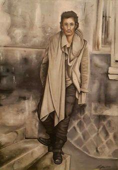Oil painting 70x100 cm, author: Lucie Přikrylová