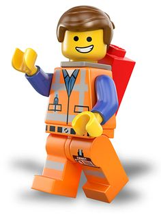 LEGO Movie Emmet Iron On Transfer Decal For White by customedesign Emmet Lego, Robot Lego, Lego Man, Lego Movie Party, Lego Movie Birthday, Ninjago Party, Birthday Board, 8th Birthday, Birthday Cakes