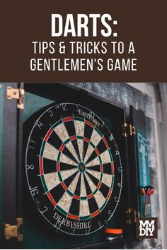 There's nothing quite like meeting up with some friends at a pub or in their basement and throwing darts while having a few drinks and catching up. But unless your friend is the DD (designated dart-expert) then no one reallllly knows what they're doing other than trying to hit the bullseye. Don't worry, we'll fix that for you. // Dart Tips // How to Play Darts // Games to Play // Darts Play Darts, Darts Game, Games To Play, Gentleman, Basement, Tips, Man Stuff, Drinks, Modern